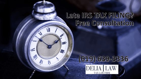 IRS late tax filing