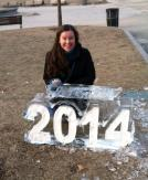 2014 ice sculpture