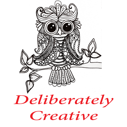 Deliberately Creative Owl Logo