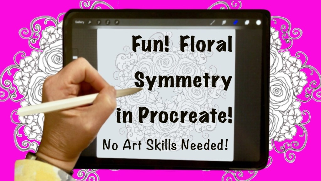 Skillshare Floral Symmetry Class