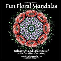 book cover Relaxing Floral Mandalas