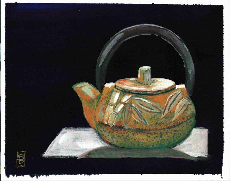 Bamboo Teapot