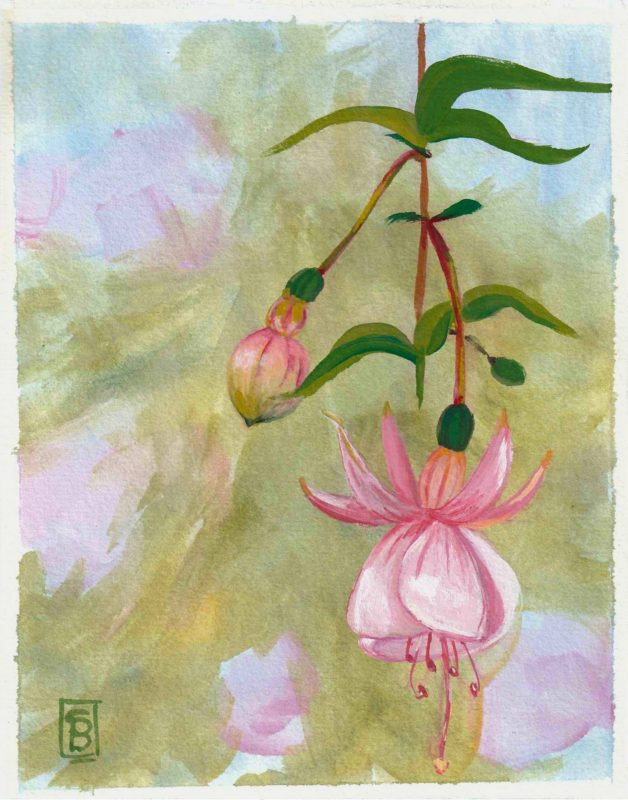 """Dancing Flowers (<span class=""""has-inline-color has-pale-pink-color"""">SOLD</span>)"""