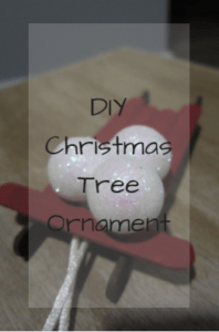 DIY, crafts, Christmas, Holidays, save money, ornament, Christmas tree ornament
