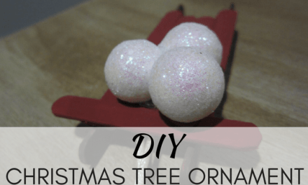 DIY Christmas Tree Ornament