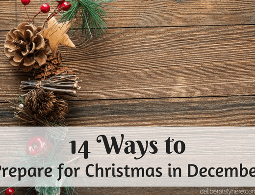 14 Ways to Prepare for Christmas in December