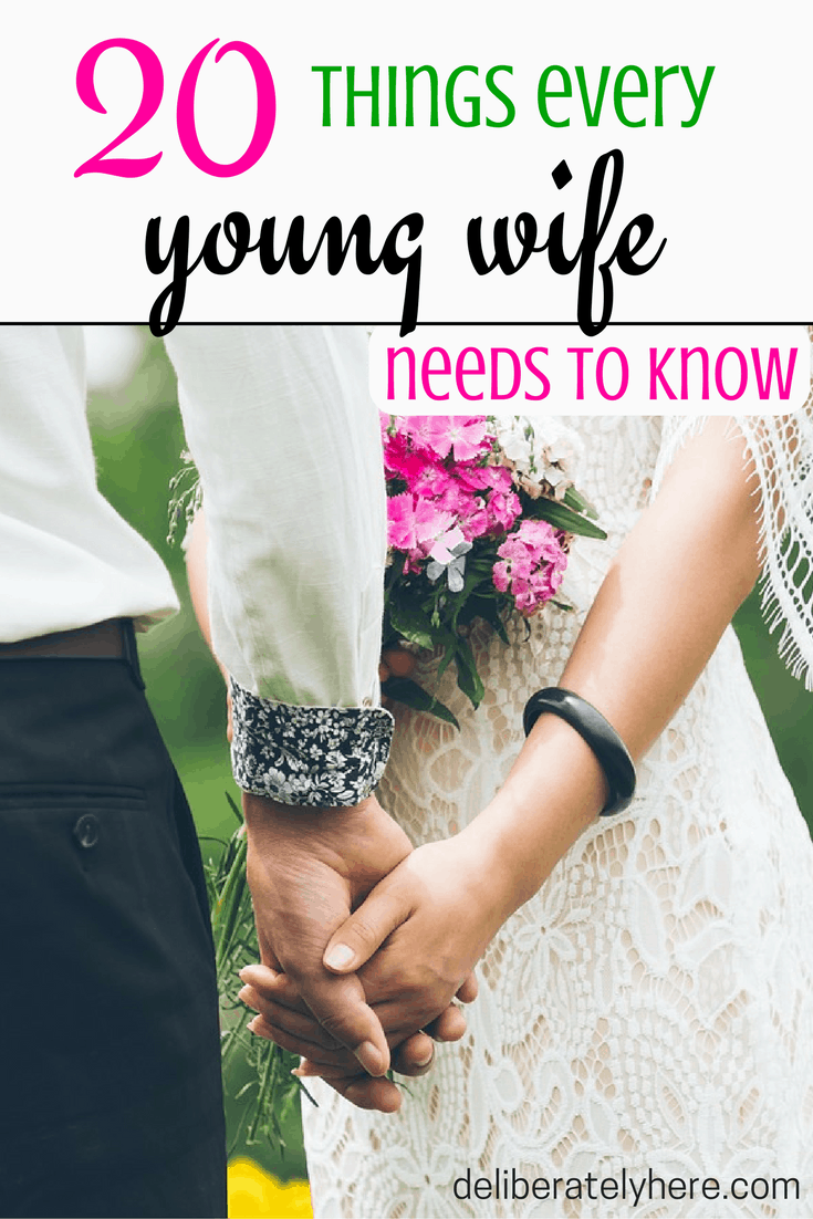 20 Things Every Young Wife Needs to Know