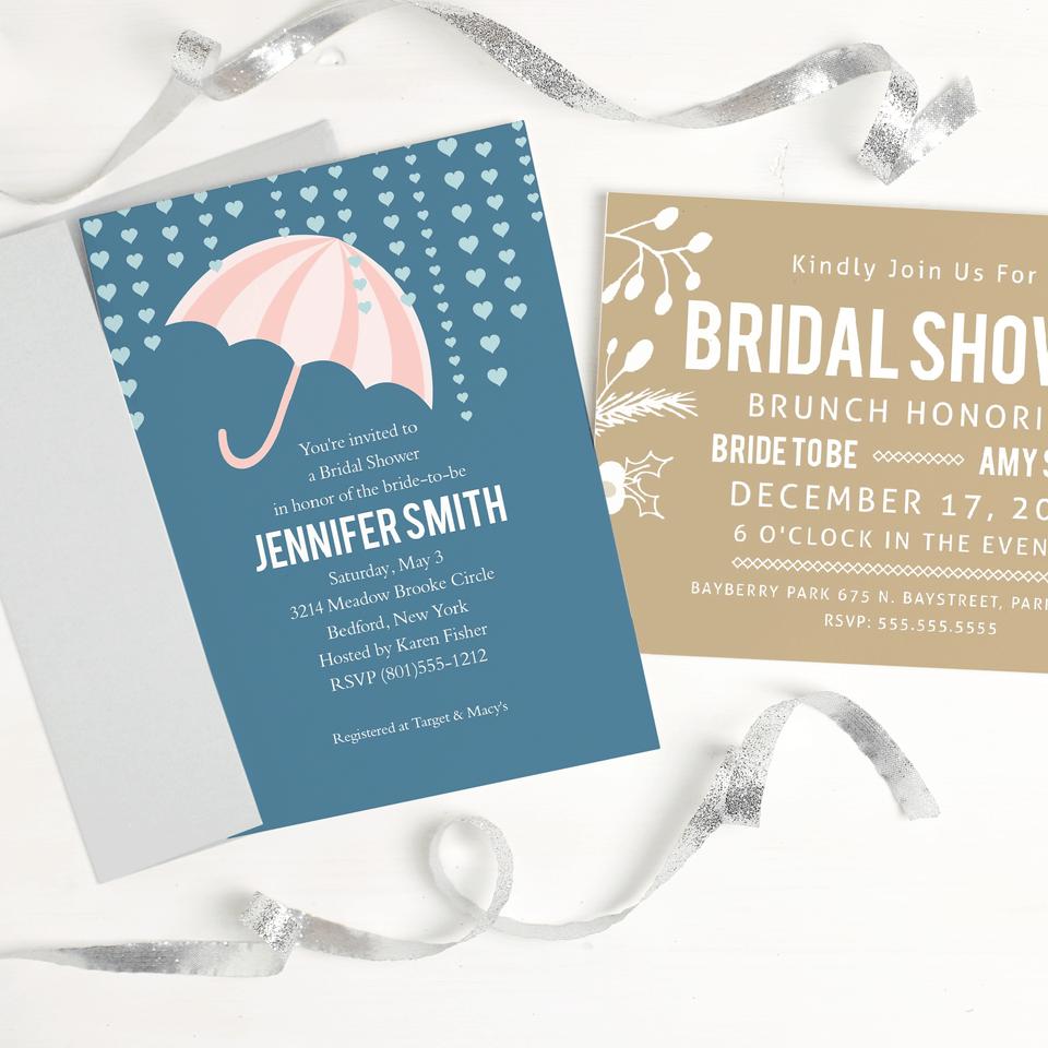 Basic Invite Bridal Shower Invitation