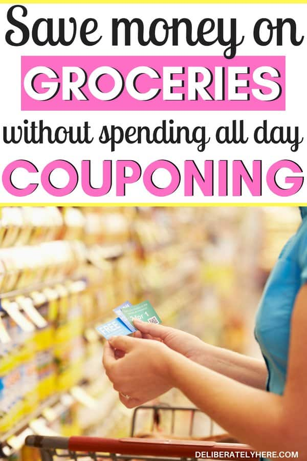 Save money on groceries without spending all day couponing - how to coupon for beginners - learn how to coupon to save money. Save money without spending all day clipping coupons. Learn how to coupon easily with minimal effort and time put in. I've always wanted to try couponing, but I never did it because I assumed it would take up my entire day - but it turns out couponing doesn't have to take long. It can be done quickly and effectively and still help you save money on groceries! I was able to stay in my food budget this month thanks to couponing!