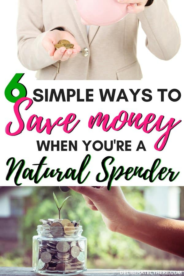 How to save money when you're a natural spender. Easy saving money tips for the newly frugal. Save money ideas and live smart with these frugal tips. Get your finances organized and start saving money with frugal living.