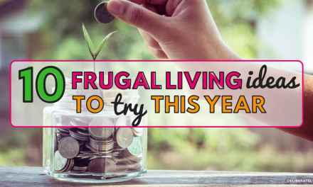 10 Frugal Living Ideas to Try This Year