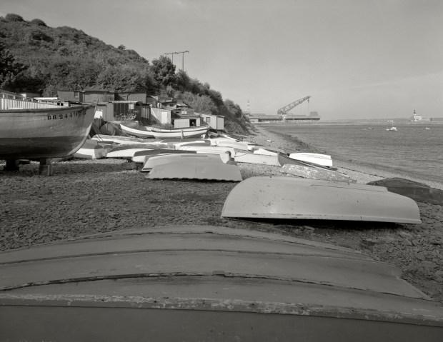 Brest 1992. La plage de Maison-Blanche © Gilles Walusinski