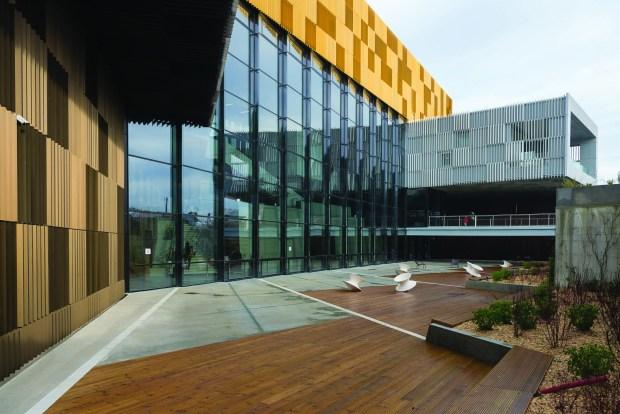 L'Alpha, médiathèque d'Angoulême