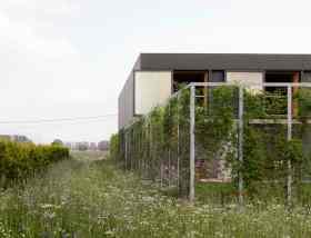 "Villa Buggenhout - ""Everything architecture"" par l'agence belge basée a Bruxelles OFFICE, Kersten Geers et David Van Severen"