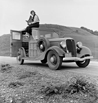 Dorothea Lange photographiée par Paul Taylor