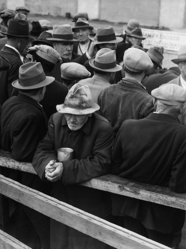 Dorothea Lange, White Angel Breadline (1933)