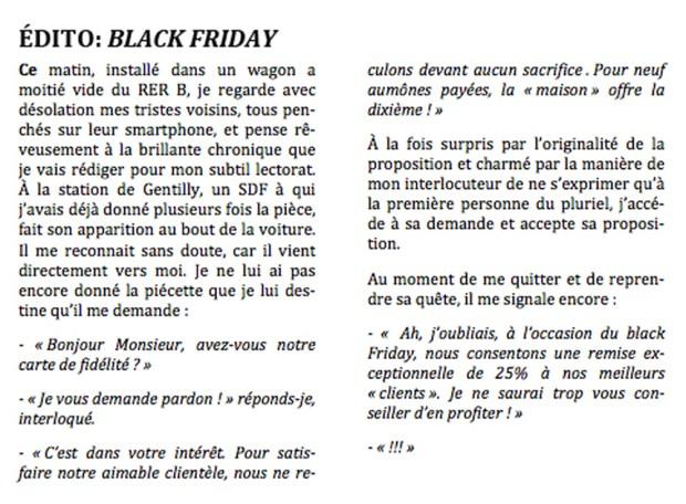 Black Friday © Philippe Mignon