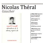 Disparition de Nicolas Théral, artiste et gaucher