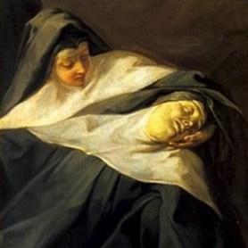 Jean Restout: La Mort de sainte Scolastique