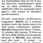 American cars © Philippe Mignon - Choses revues - délibéré