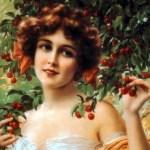 Portrait de jeune fille par Émile Vernon