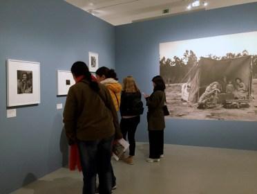 Vue de l'exposition Dorothea Lange, Jeu de Paume, 2018 © Gilles Walusinski
