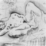 Michel Fingesten, Improvisationen über das Thema Liebe (Improvisations sur le thème de l'amour), encre, 1923
