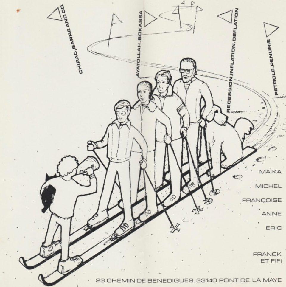 Carte de vœux 1980