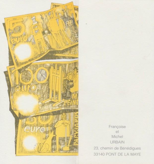1997 - Les vœux des Zurbains © Famille Urbain