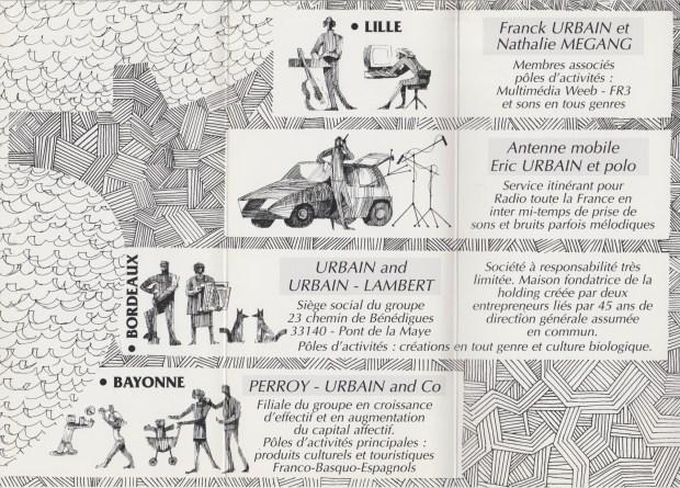 Carte de vœux 1998 © Famille Urbain