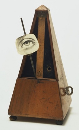 Man Ray,  Objet à détruire, 1923 / Objet indestructible, Museum of Modern Art, New York, 1954