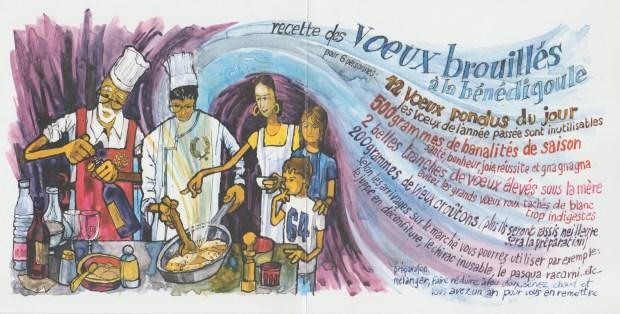 2005 - Les Zurbains vous souhaitent une excellente nouvelle année © Famille urbain
