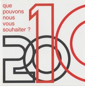2010 - Les Zurbains vous souhaitent une excellente nouvelle année © Famille urbain