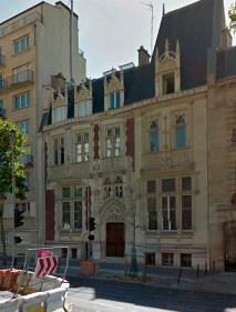 Hôtel Gourron, 23bis boulevard Berthier, Paris