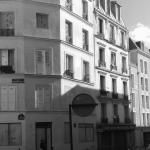 L'hôtel du 32, rue Polonceau à Paris, juste avant la démolition