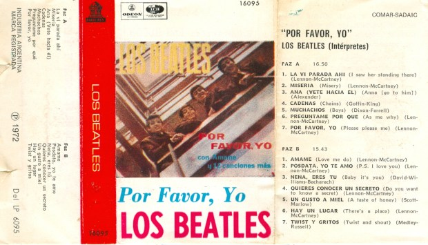 Los Beatles: Por favor, yo / Please please me