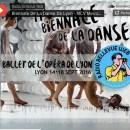 La Biennale de la Danse de Lyon sur Radio Bellevue