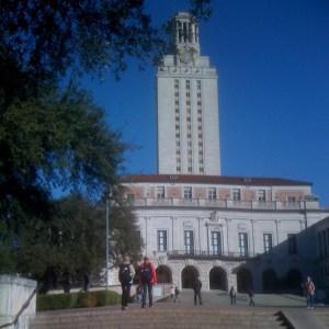 Campus de l'Université du Texas, à Austin © Hélène Quanquin
