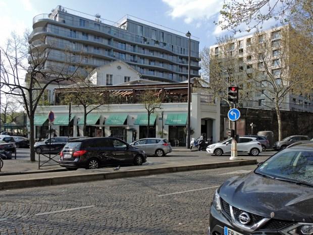 Immeubles de logement Gare d'Auteuil ©Gilles Walusinski