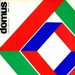 Couverture de la revue Domus n°448, mars 1967 © DR