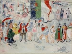 James Ensor, Carnaval en Flandres