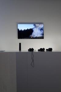 Florian Pugnaire & David Raffini, Énergie sombre, 2012, Volkswagen Transporter, chaînes, vidéo. Photo Aurélien Mole / Fondation d'entreprise Ricard