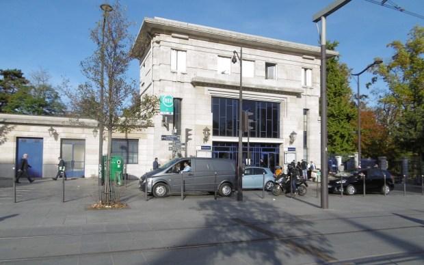 Cité internationale, gare du RER B