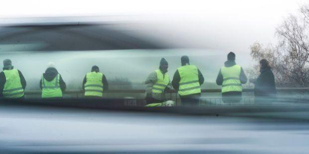 Gilets jaunes à Reims (photo AFP)