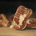 Francisco José de Goya y Lucientes, Nature morte à la tête de mouton © Musée du Louvre. Une chronique d'Edouard Launet