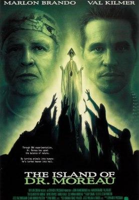 L'île du Dr Moreau, avec Marlon Brando et Val Kilmer