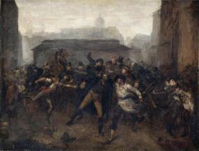 Jean-Baptiste Carpeaux, L'Espion. Épisode du siège de Paris