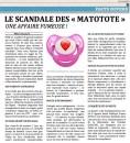 Le scandale des Matotote