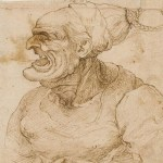 Leonard de Vinci - Profil de femme grotesque