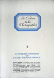 Les Cahiers de la Photographie